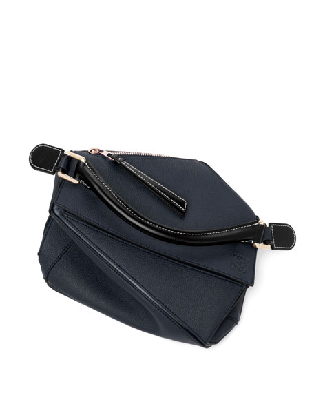 Image 5 of 5: Loewe Puzzle Small Leather Satchel Bag
