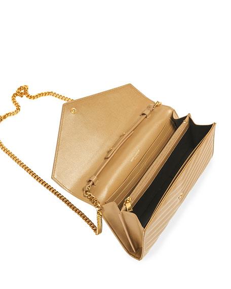 Matelasse Monogram Wallet on Chain