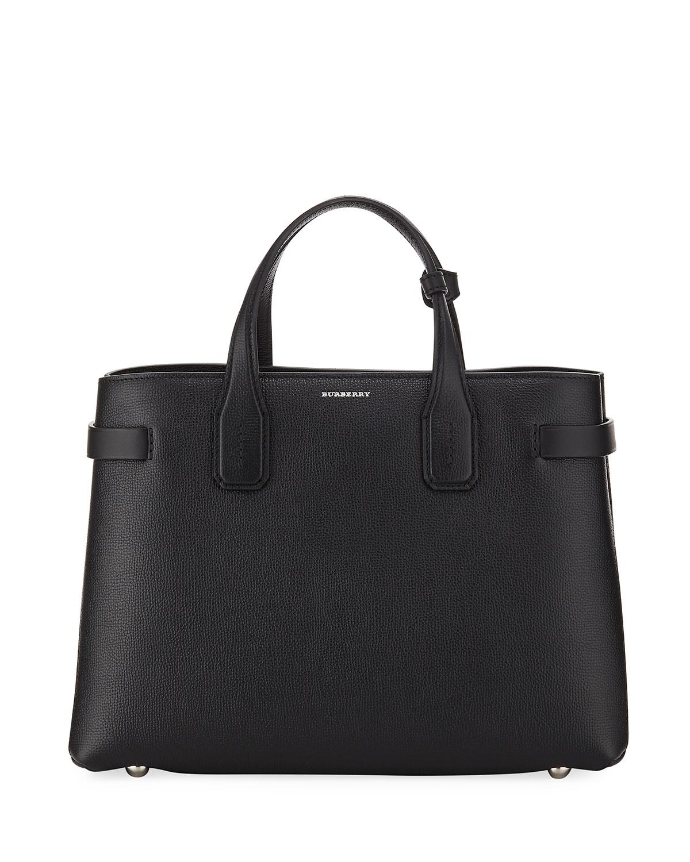 1b29934cd851 Burberry Banner Medium Derby Leather Tote Bag