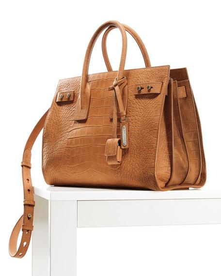 Sac de Jour Small Croco Carryall Bag