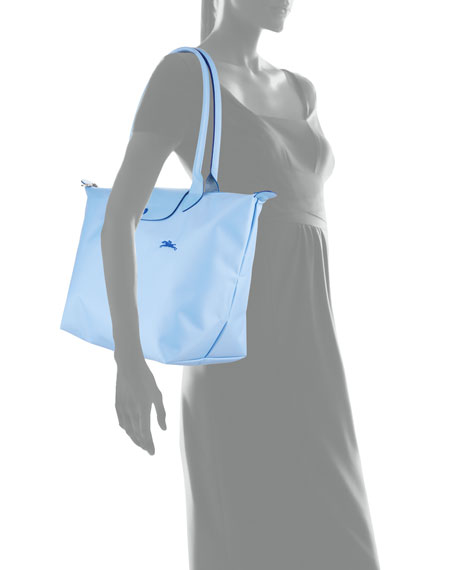 481a4c94b5d Longchamp Le Pliage Club Large Nylon Shoulder Tote Bag | Neiman Marcus
