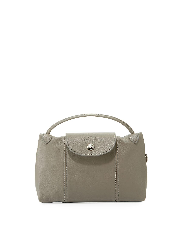 0d32b9916e Longchamp Le Pliage Cuir Small Crossbody Bag