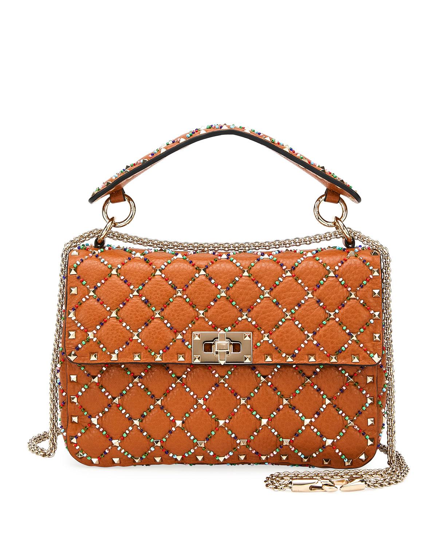 1403431345 Valentino Garavani Spike.It Medium Quilted Leather Shoulder Bag ...
