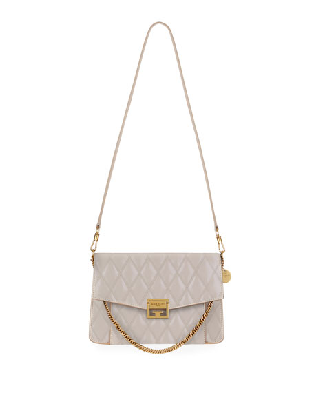 Givenchy GV3 Medium Losange Quilted Leather Shoulder Bag