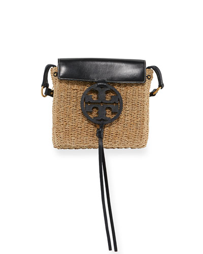 Miller Straw Crossbody Bag