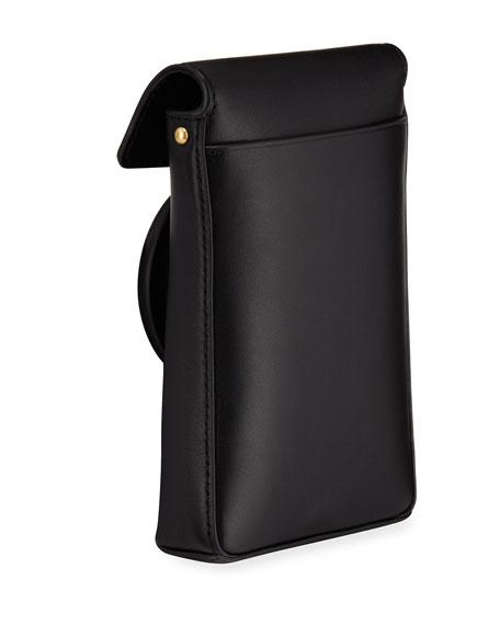 Tory Burch Miller Leather Smartphone Crossbody Bag
