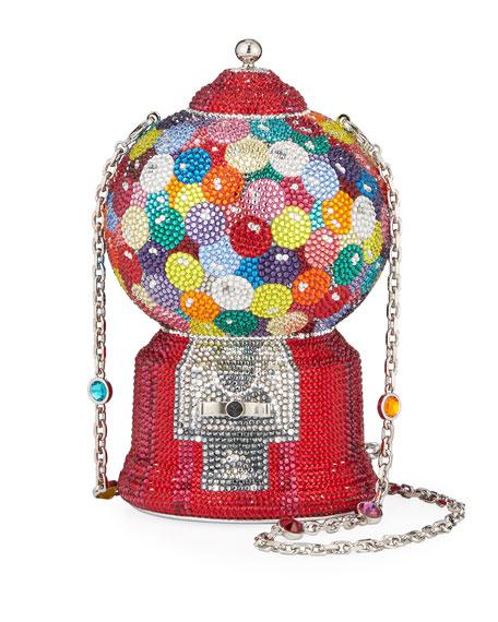 Judith Leiber Couture Gumball Machine Minaudiere Clutch Bag