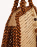Rosantica Schultz Beaded Top Handle Bag