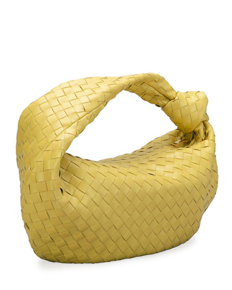 Image 3 of 4: Bottega Veneta Small BV Jodie Napa Intrecciato Hobo Bag