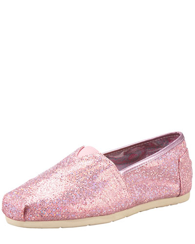 TOMS Exclusive Glitter Slip-On
