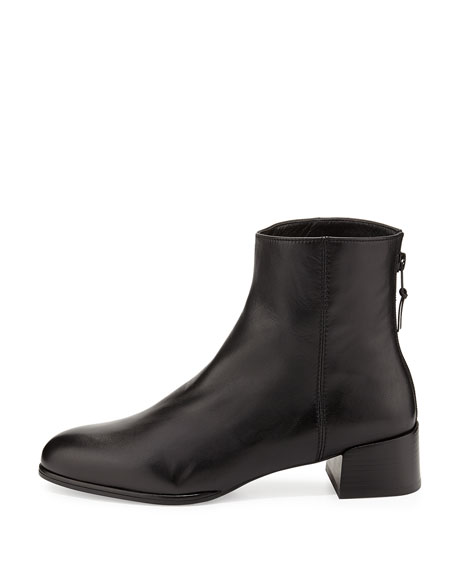 Low-Wedge Ankle Boot