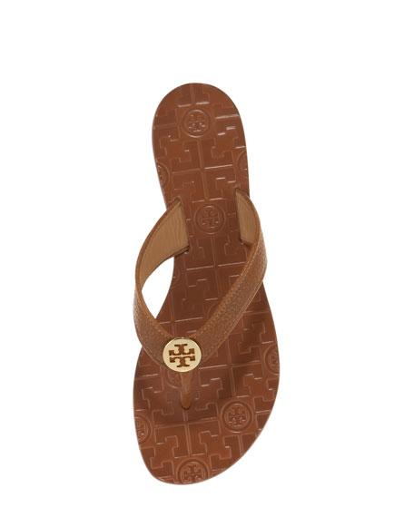 8723eacf2de18e ... promo code tory burch thora leather thong sandal neiman marcus 47fda  ddd97