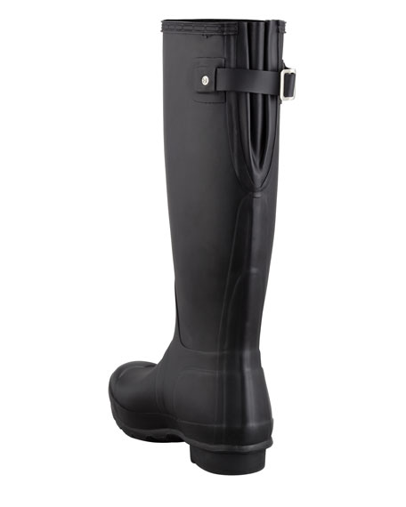 Hunter Boot Flat Adjustable Matte Welly