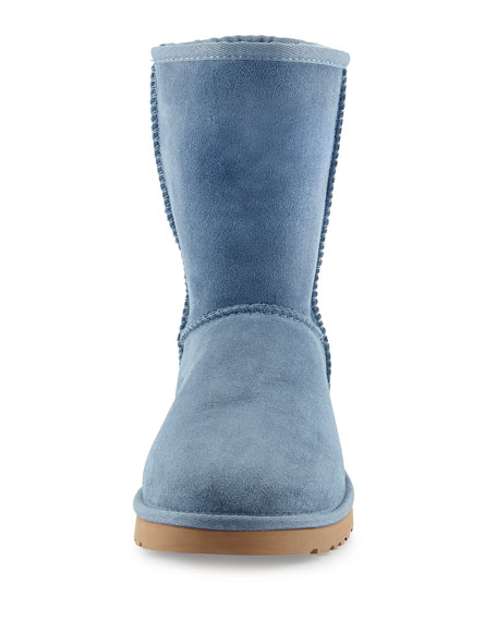 Classic Short Boot, Dolphin Blue