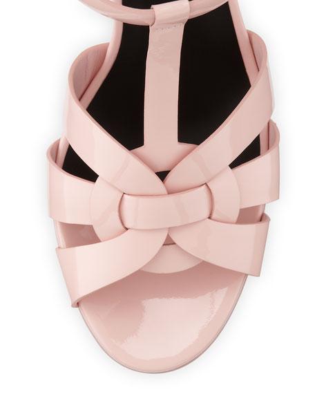 Tribute Patent 75mm Sandal, Pale Blush