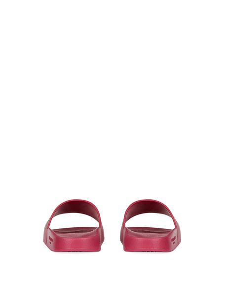 Logo Rubber Slide Sandal