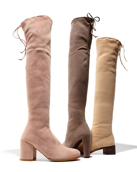 Highland Suede Over-The-Knee Boot