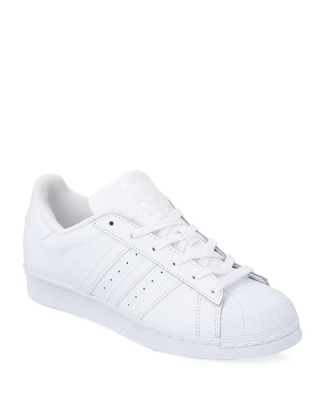 c4f431d3c2d Adidas Superstar Classic Sneakers, White | Neiman Marcus
