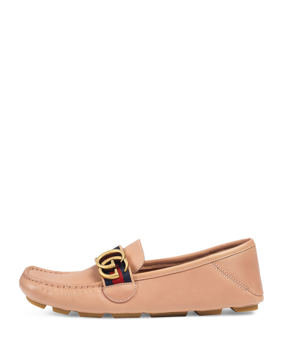 f71d0e27927 Gucci Noel Leather Web Loafer