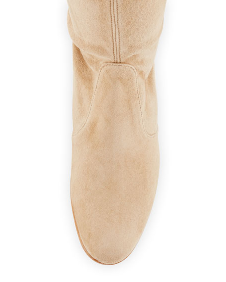 Tieland Suede Over-the-Knee Boot