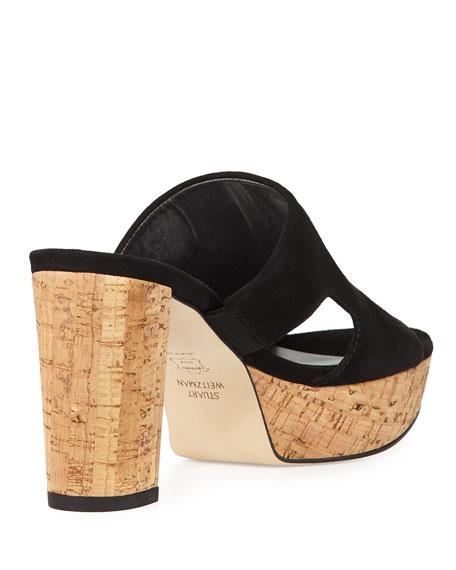 Draft Suede Platform Sandal