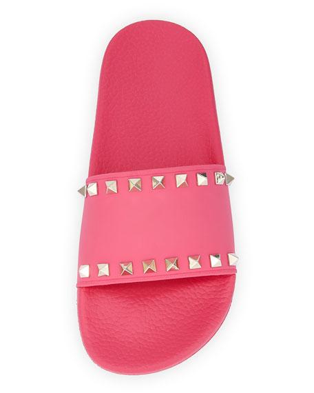 Valentino Garavani Rockstud Pool Slide Sandals