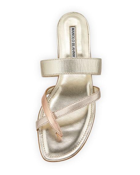 Susa Flat Leather Sandals