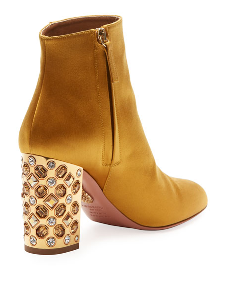 Party Silk Embellished 85mm Bootie