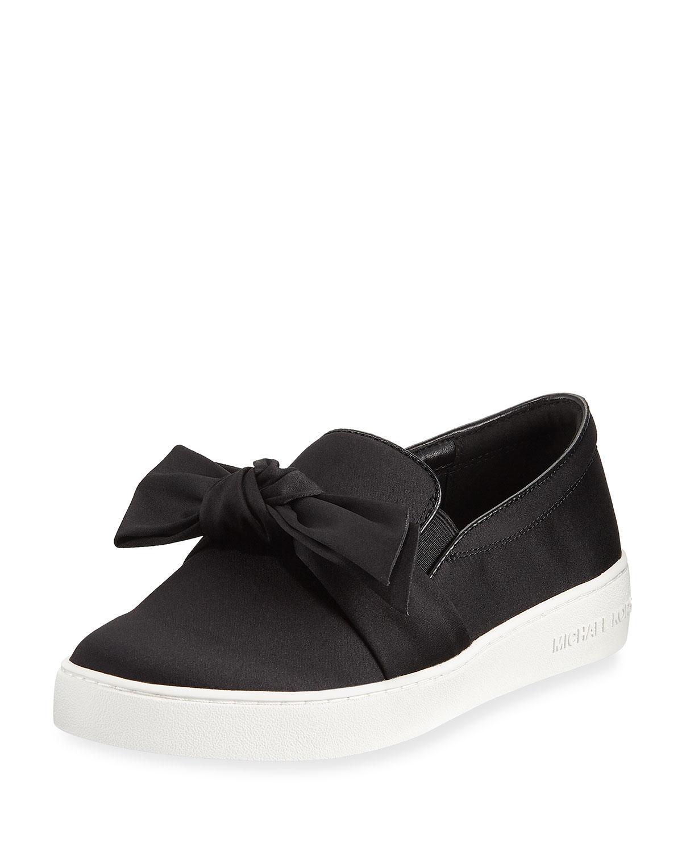 62d392262e6f6 MICHAEL Michael Kors Willa Satin Bow Skate Sneaker