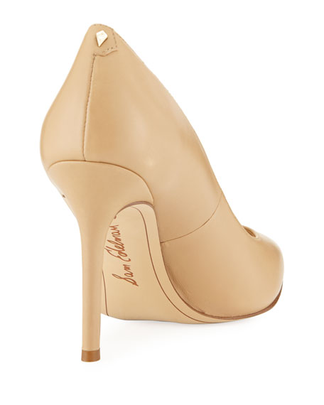Sam Edelman Hazel Napa Leather Pointed Pumps