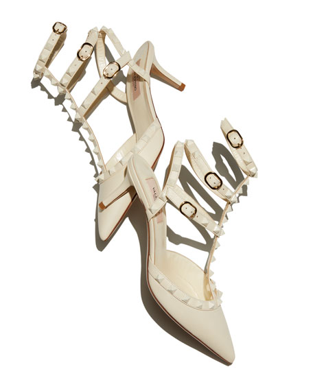 Valentino Garavani Rockstud Smooth Calf Pump
