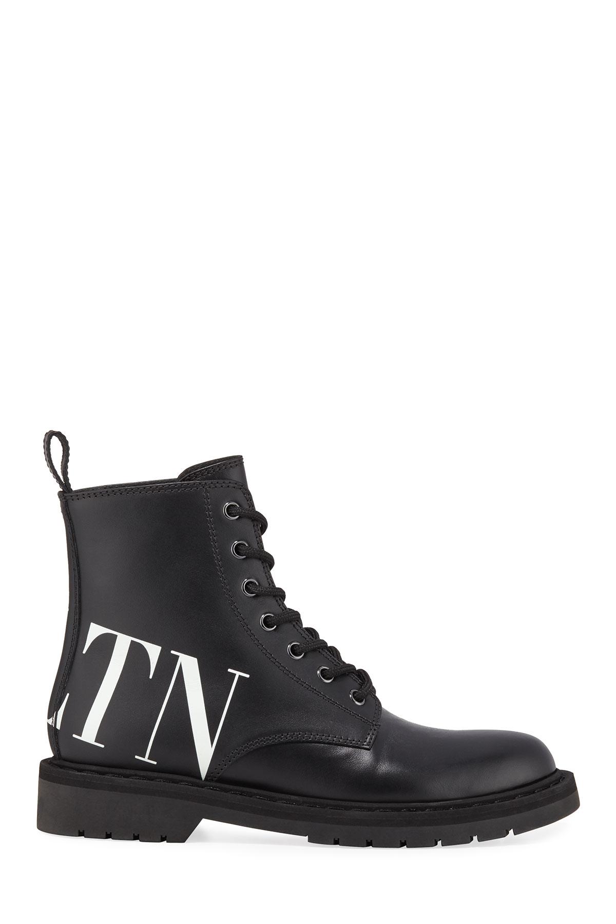 0599b03afde VLTN Leather Combat Boots