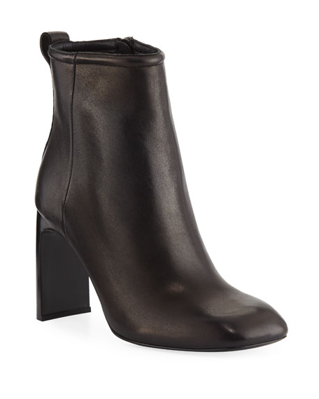 Rag & Bone Ellis Square-Toe Leather Booties
