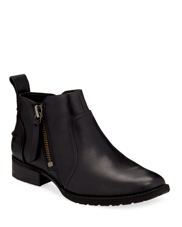 65e4c53ad00 Aureo Ankle Booties, Black