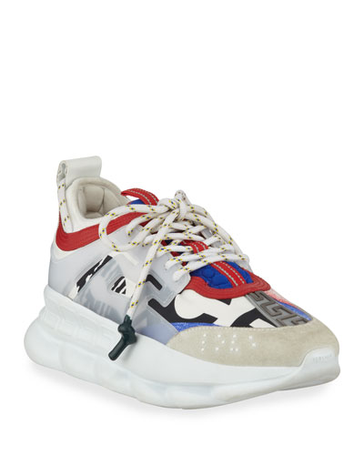 Colorblock Chain Reaction Sneakers