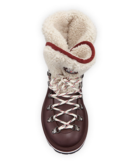 Moncler Inaya Scarpa Lace-Up Hiking Boots