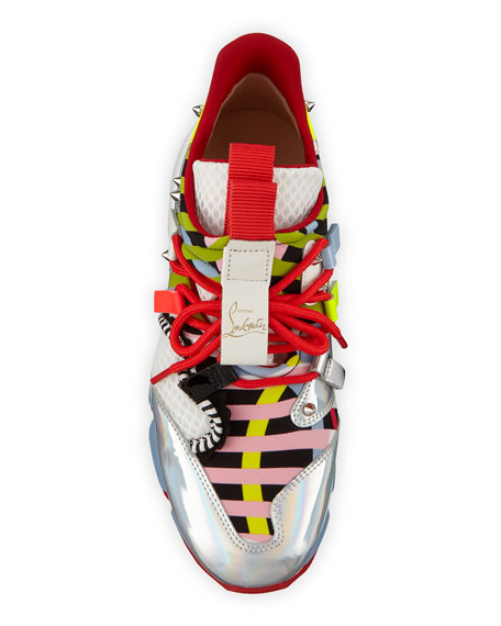 Christian Louboutin Donna Runner Red Sole Sneakers