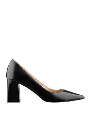 ec1455669a Mid Heel Designer Shoes at Neiman Marcus