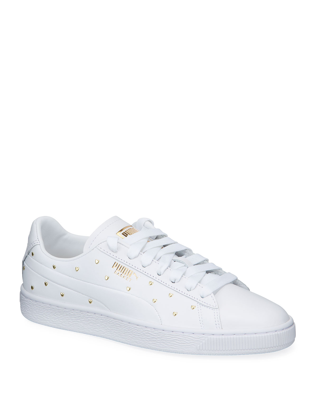 promo code aa5f4 c9204 Basket Heart Studs Sneakers