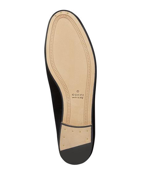 Gucci 10mm New Jordaan Velvet Loafer