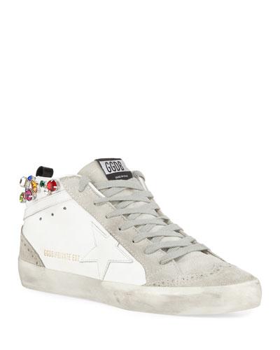 Midstar Crystal High-Top Sneakers