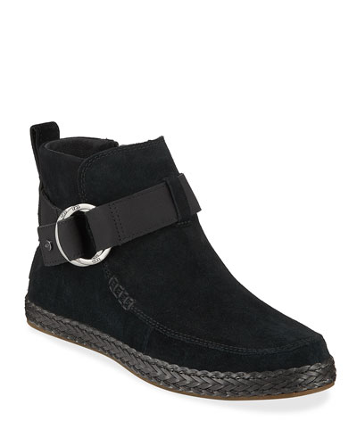 Sloane Suede Ankle Booties