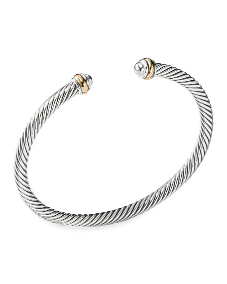 Image 1 of 4: Cable Classics Bracelet with Gold
