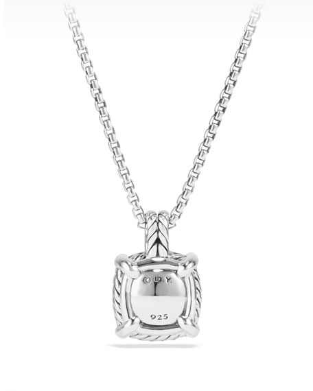 Image 4 of 5: David Yurman 9mm Châtelaine® Bezel Necklace with Diamonds