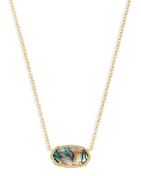 Elisa Iridescent Druzy Necklace