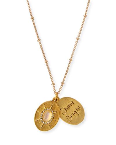 Full Moon Talisman Necklace