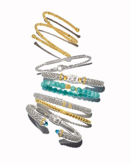 Caviar Icon Beaded Stretch Bracelet