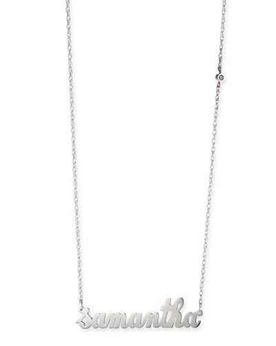 Abigail Personalized Diamond Necklace