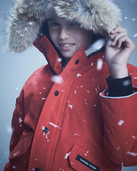 Rundle Bomber w/Detachable Fur Trim, Youth XS-XL
