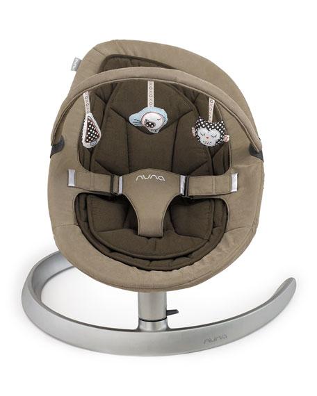 Nuna Leaf Luxx Bouncer Seat, Almond